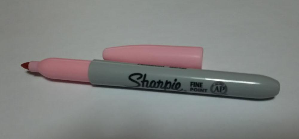Sharpie シャーピーピンク